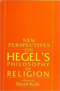 David Kolb's New Perspectives on Hegel's Philosophy of Religion book cover