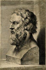 Image of ancient philosopher Plato